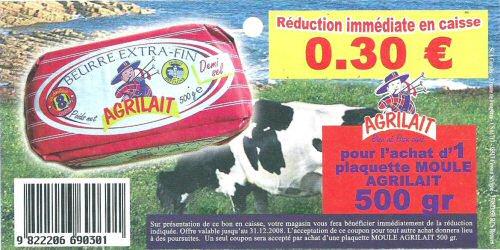bon de reduction beurre